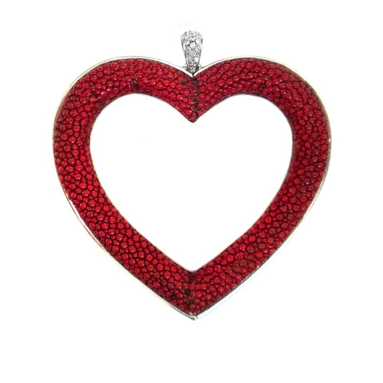 Cuore Rosso Maria Greca Sas Jewelry Made In Italy